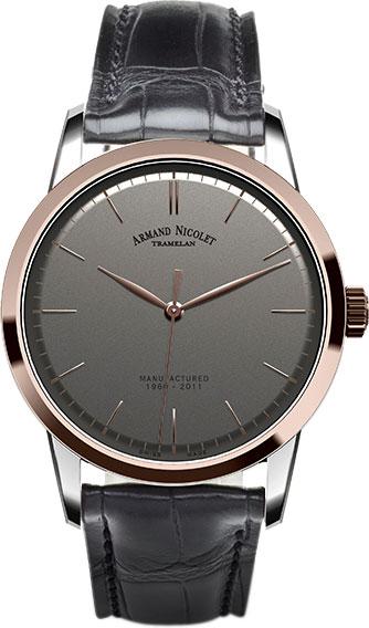 Мужские часы Armand Nicolet 8670A-GR-P670GR1 мужские часы armand nicolet a650aaa gr pi4650na