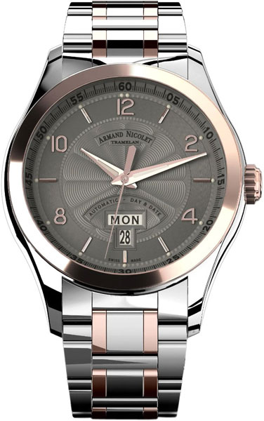 Мужские часы Armand Nicolet 8740A-GS-M8740 armand nicolet 9670a gs p670gr1 armand nicolet