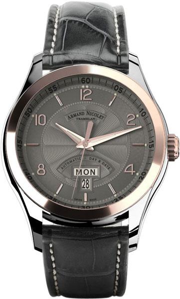 Мужские часы Armand Nicolet 8740A-GS-P974GR2 мужские часы armand nicolet a710aqn gs gg4710n
