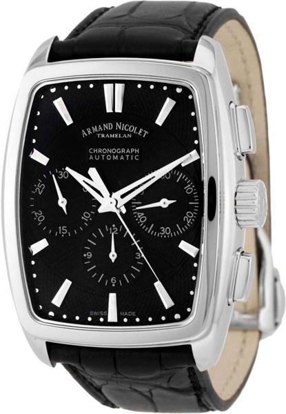 Мужские часы Armand Nicolet 9634A-NR-P968NR3 armand nicolet 9670a gs p670gr1 armand nicolet