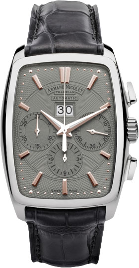 Мужские часы Armand Nicolet 9638A-GS-P968GR3 armand nicolet 9670a gs p670gr1 armand nicolet