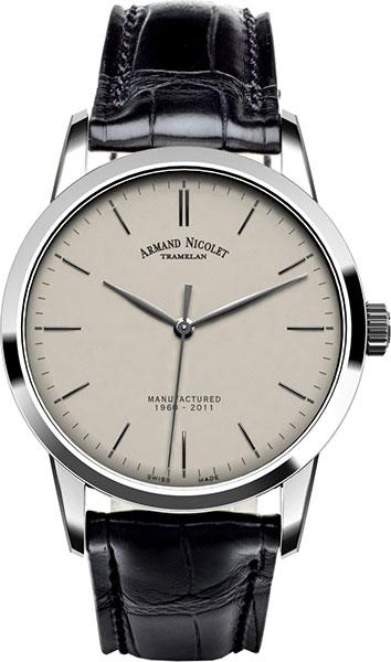 Мужские часы Armand Nicolet 9670A-AG-P670NR1
