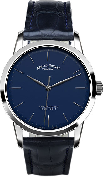 Мужские часы Armand Nicolet 9670A-BU-P670BU1 мужские часы armand nicolet 9670a bu p670bu1