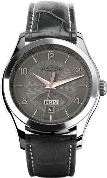 Мужские часы Armand Nicolet 9740A-GS-P974GR2