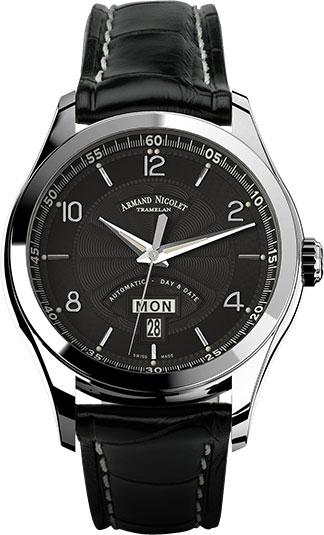 Мужские часы Armand Nicolet 9740A-NR-P974NR2