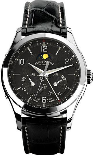 Мужские часы Armand Nicolet 9742B-NR-P974NR2