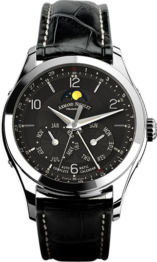 Мужские часы Armand Nicolet 9742B-NR-P974NR2 u t wave толстовка