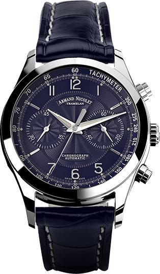 Мужские часы Armand Nicolet 9744A-BU-P974BU2