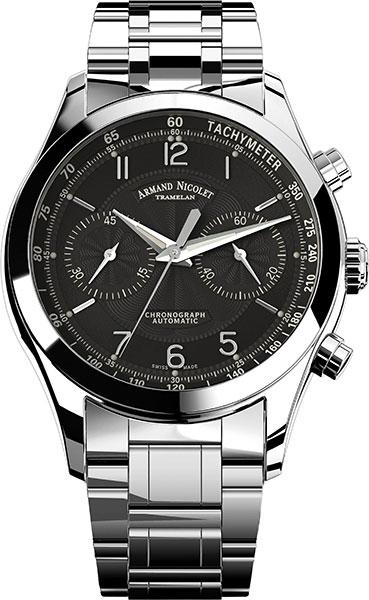 Мужские часы Armand Nicolet 9744A-NR-M9740 от AllTime