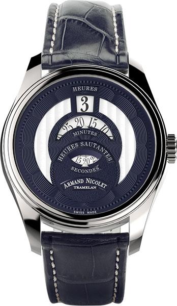 Мужские часы Armand Nicolet A136AAA-BU-P974BU2 мужские часы armand nicolet 9670a bu p670bu1