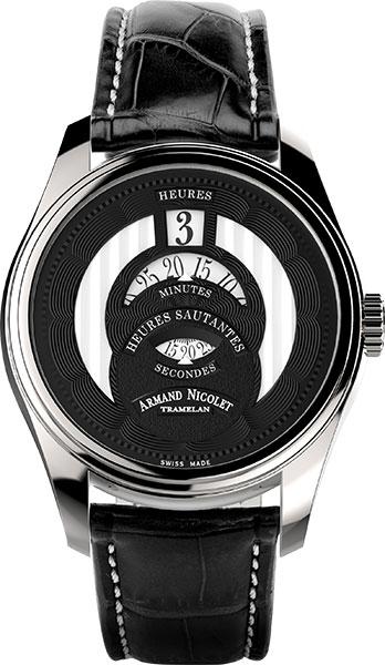 Мужские часы Armand Nicolet A136AAA-NR-P974NR2 мужские часы armand nicolet 8740a gs p974gr2