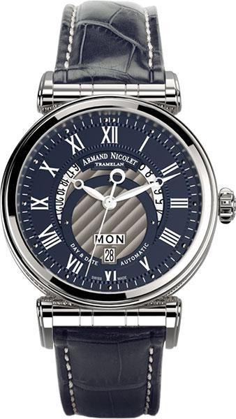 Мужские часы Armand Nicolet A420AAA-BU-P974BU2 мужские часы armand nicolet 9670a bu p670bu1