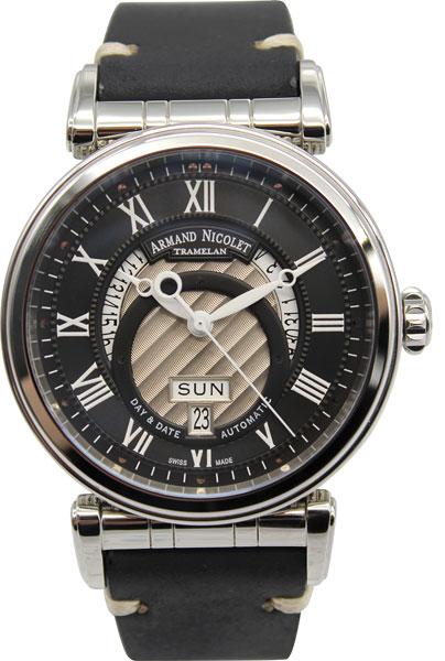 Мужские часы Armand Nicolet A420AAA-NR-PK2140 мужские часы armand nicolet a710aqn gs gg4710n