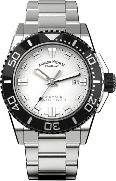 Мужские часы Armand Nicolet A480AGN-AG-MA4480AA