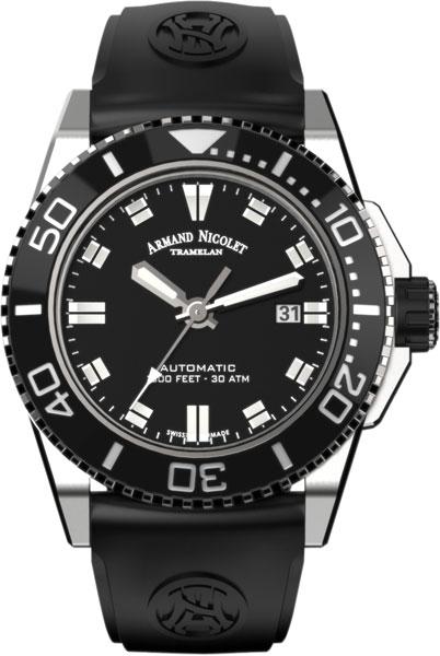 Мужские часы Armand Nicolet A480AGN-NR-GG4710N