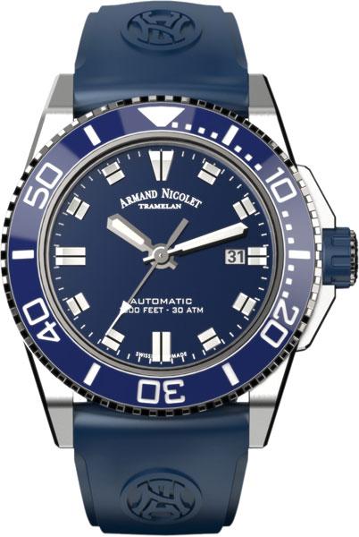 Мужские часы Armand Nicolet A480AGU-BU-GG4710U мужские часы armand nicolet 9670a bu p670bu1