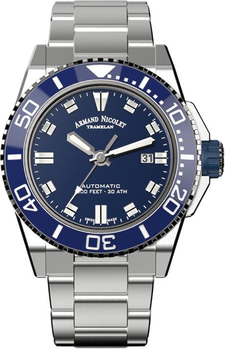 Мужские часы Armand Nicolet A480AGU-BU-MA4480AA