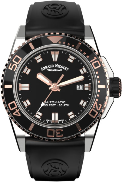 Мужские часы Armand Nicolet A480ASN-NS-GG4710N
