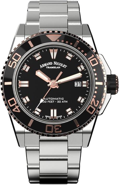Мужские часы Armand Nicolet A480ASN-NS-MA4480AA
