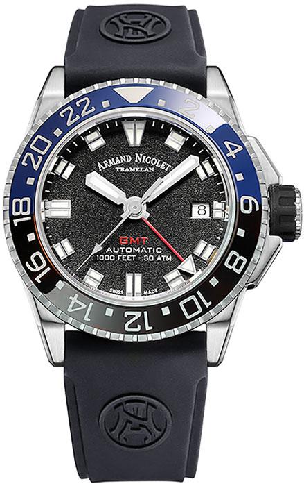 Мужские часы Armand Nicolet A486AGN-NR-GG4710N