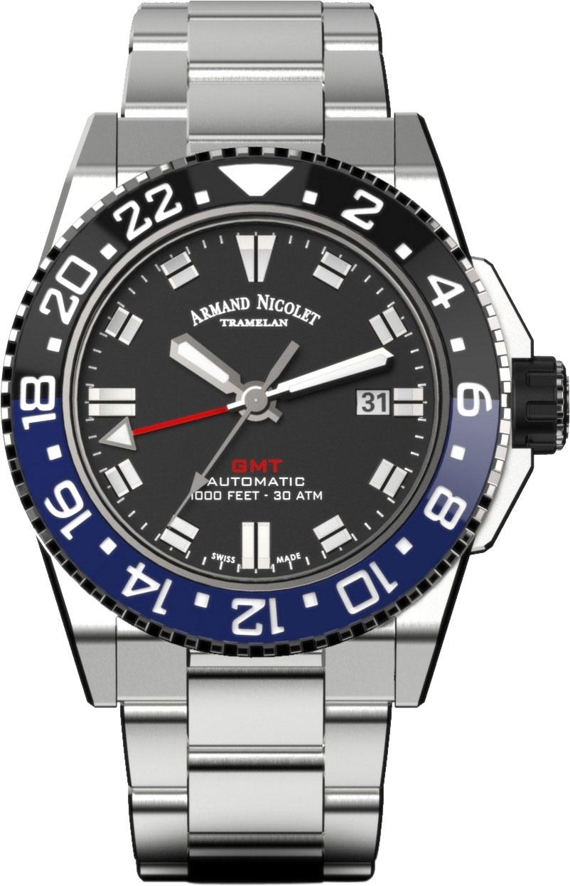 Мужские часы Armand Nicolet A486AGN-NR-MA4480AA