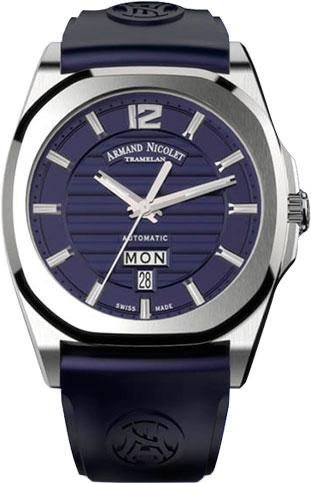 Мужские часы Armand Nicolet A650AAA-BU-GG4710U мужские часы armand nicolet 9670a bu p670bu1