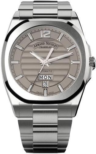 Мужские часы Armand Nicolet A650AAA-GR-MA4650AA мужские часы armand nicolet a650aaa gr pi4650na
