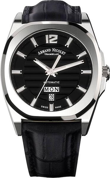 Мужские часы Armand Nicolet A650AAA-NR-PI4650NA мужские часы armand nicolet a650aaa gr pi4650na