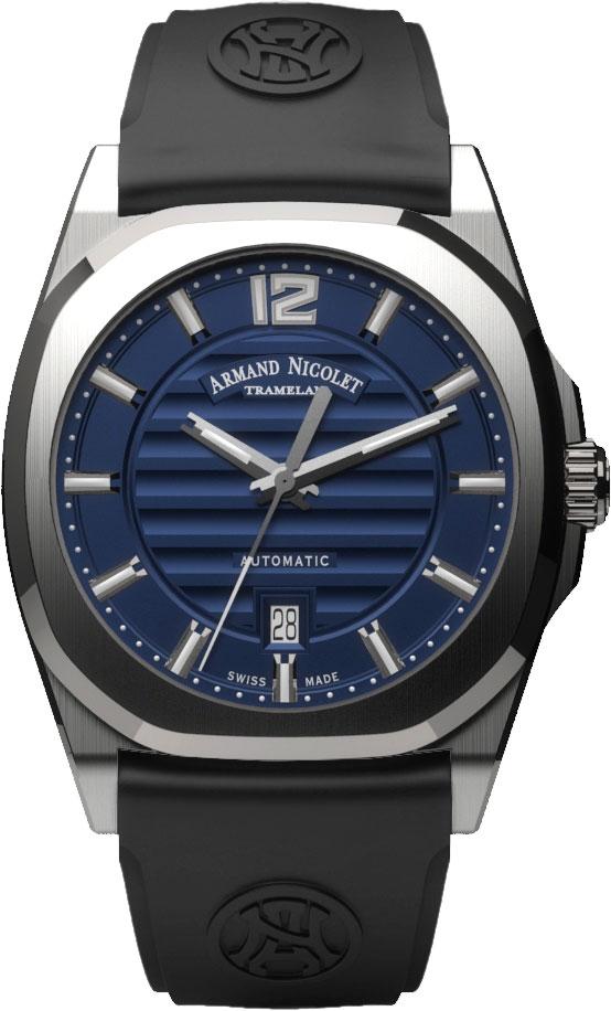 Мужские часы Armand Nicolet A660AAA-BU-GG4710N
