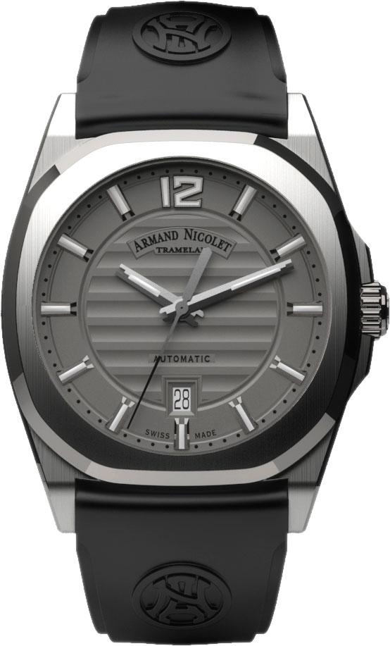 Мужские часы Armand Nicolet A660AAA-GR-GG4710N