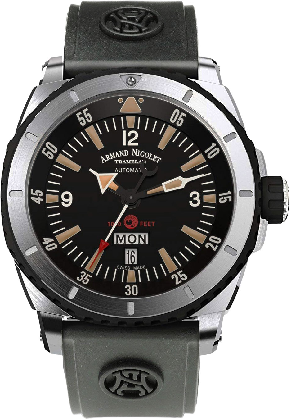 Мужские часы Armand Nicolet A713MGN-NR-G9610 мужские часы armand nicolet 9670a bu p670bu1