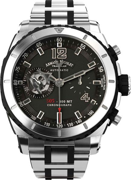 Мужские часы Armand Nicolet A714AGN-GR-MA4710GN