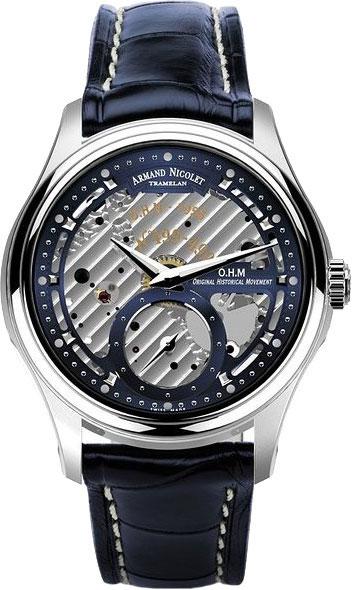 Мужские часы Armand Nicolet A750AAA-BU-P713BU2 armand nicolet 9670a gs p670gr1 armand nicolet