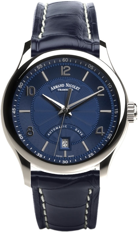 Мужские часы Armand Nicolet A840AAA-BU-P840BU2