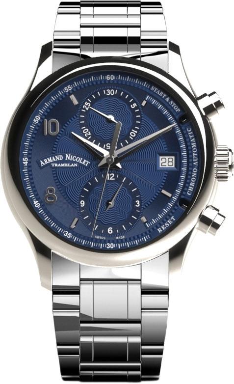 Мужские часы Armand Nicolet A844AAA-BU-M9742