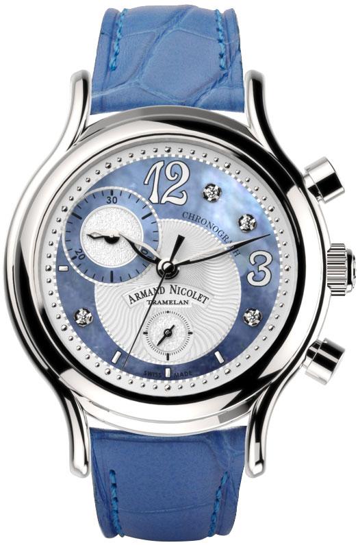 Фото «Швейцарские наручные часы Armand Nicolet A884AAA-AK-P953LV8 с хронографом»