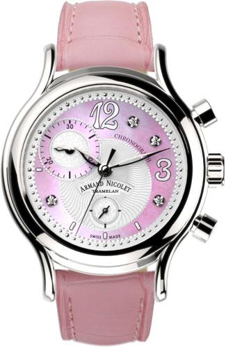 Фото «Швейцарские наручные часы Armand Nicolet A884AAA-AS-P953RS8 с хронографом»