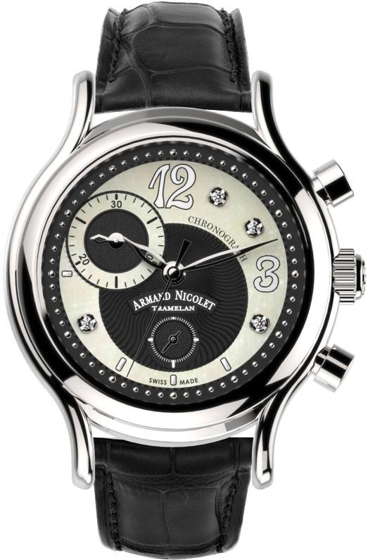 Фото «Швейцарские наручные часы Armand Nicolet A884AAA-NN-P953NR8 с хронографом»
