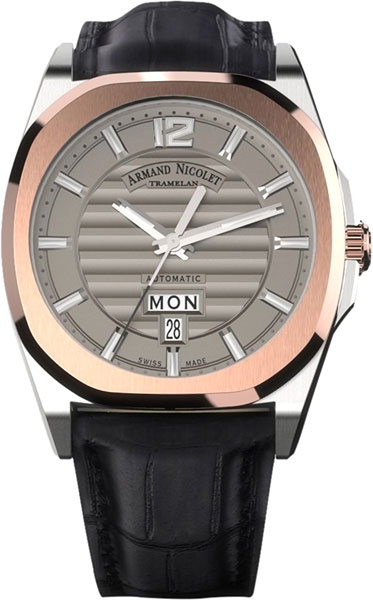 Мужские часы Armand Nicolet D650AAA-GR-PI4650NA мужские часы armand nicolet a650aaa gr pi4650na