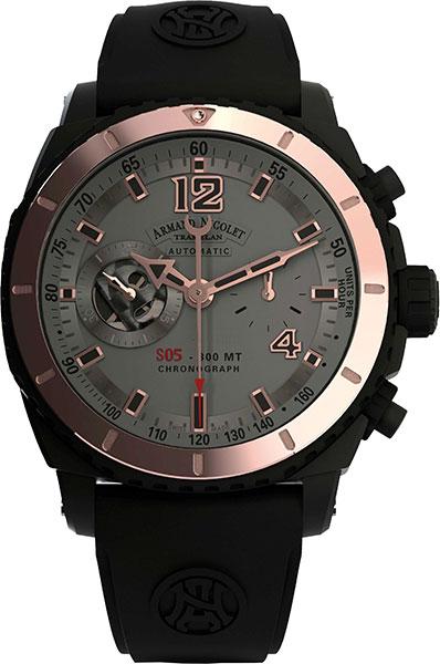 Мужские часы Armand Nicolet D714AQN-GS-GG4710N от AllTime