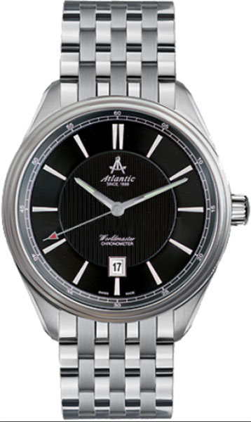 ������� �������� ����������� ���� � ��������� Worldmaster Atlantic - Atlantic��������: 2 ����; Worldmaster Chronometer. ��������� �������������� C.O.S.C. ��������������� ���������� ������ ������. �����: 2; ��� ���������: ������������ � ��������������; ������: ETA 2824-2; ������: �����; ���������: ������; �������: ��������; ����������: 100WR; ���������: �������������� �������; ������: ���������� �������� � ������������ ���������; ���������: �����; �������� � ������������: ��. ����; ���������� � �����: �������;<br>