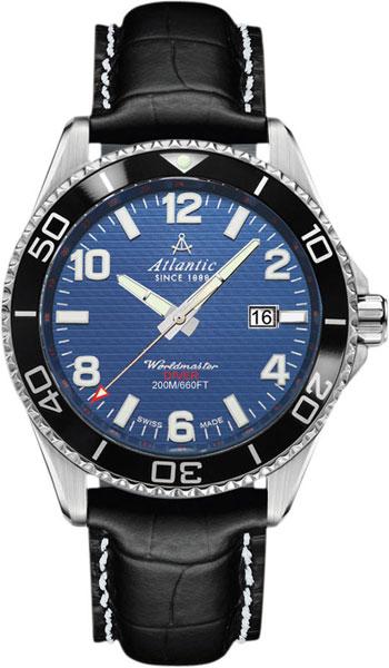 Мужские часы Atlantic 55370.47.55S мужские часы atlantic 63456 45 21