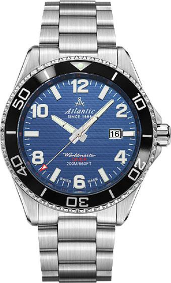 Мужские часы Atlantic 55375.47.55S мужские часы atlantic 63456 45 21