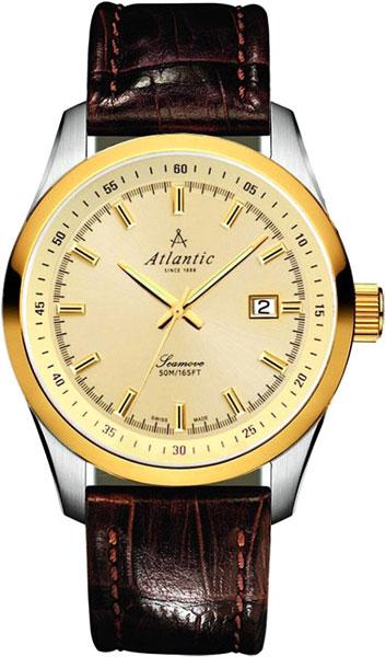 Мужские часы Atlantic 65351.43.31 мужские часы atlantic 63456 45 21
