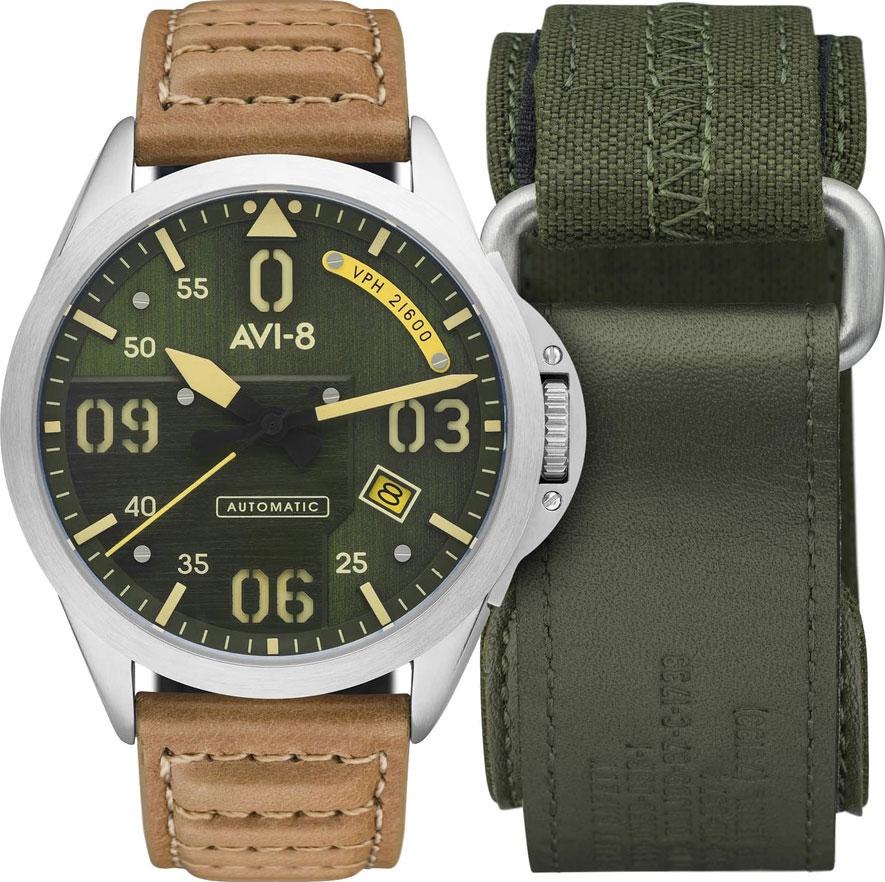цена Мужские часы AVI-8 AV-4069-02 онлайн в 2017 году