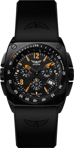 Мужские наручные швейцарские часы в коллекции Mig-29 Cocpit Chrono Aviator