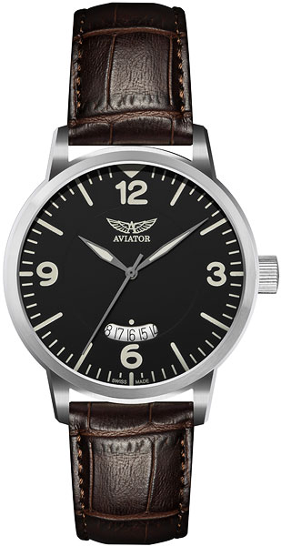 Мужские швейцарские наручные часы Aviator V.1.11.0.034.4