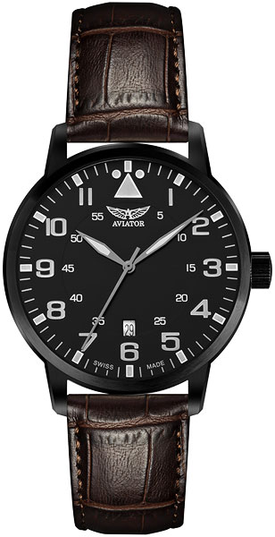 Мужские часы Aviator V.1.11.5.036.4 мужские часы aviator v 3 21 0 139 5