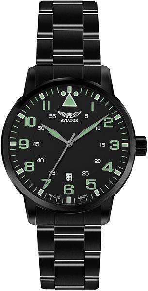 Мужские часы Aviator V.1.11.5.038.5 мужские часы aviator v 3 21 0 139 5