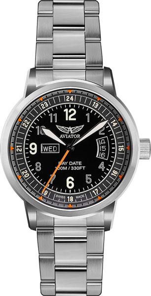 Мужские часы Aviator V.1.17.0.106.5 браслет стальной к часам маурицио